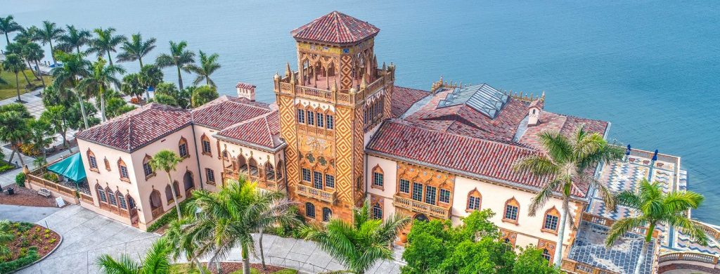 House at the Ringling Museum in Sarasota, FL